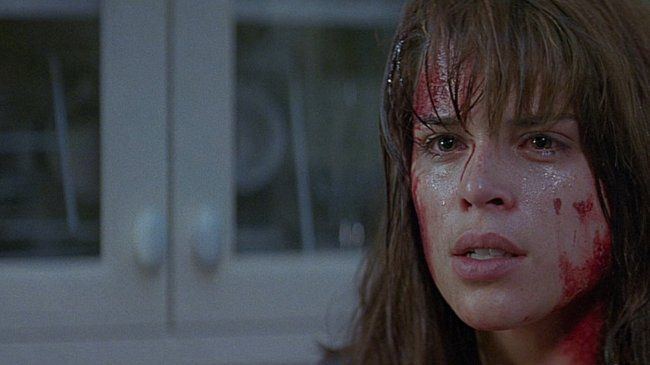 Neve Campbell as Sydney Prescott in Scream (1996)