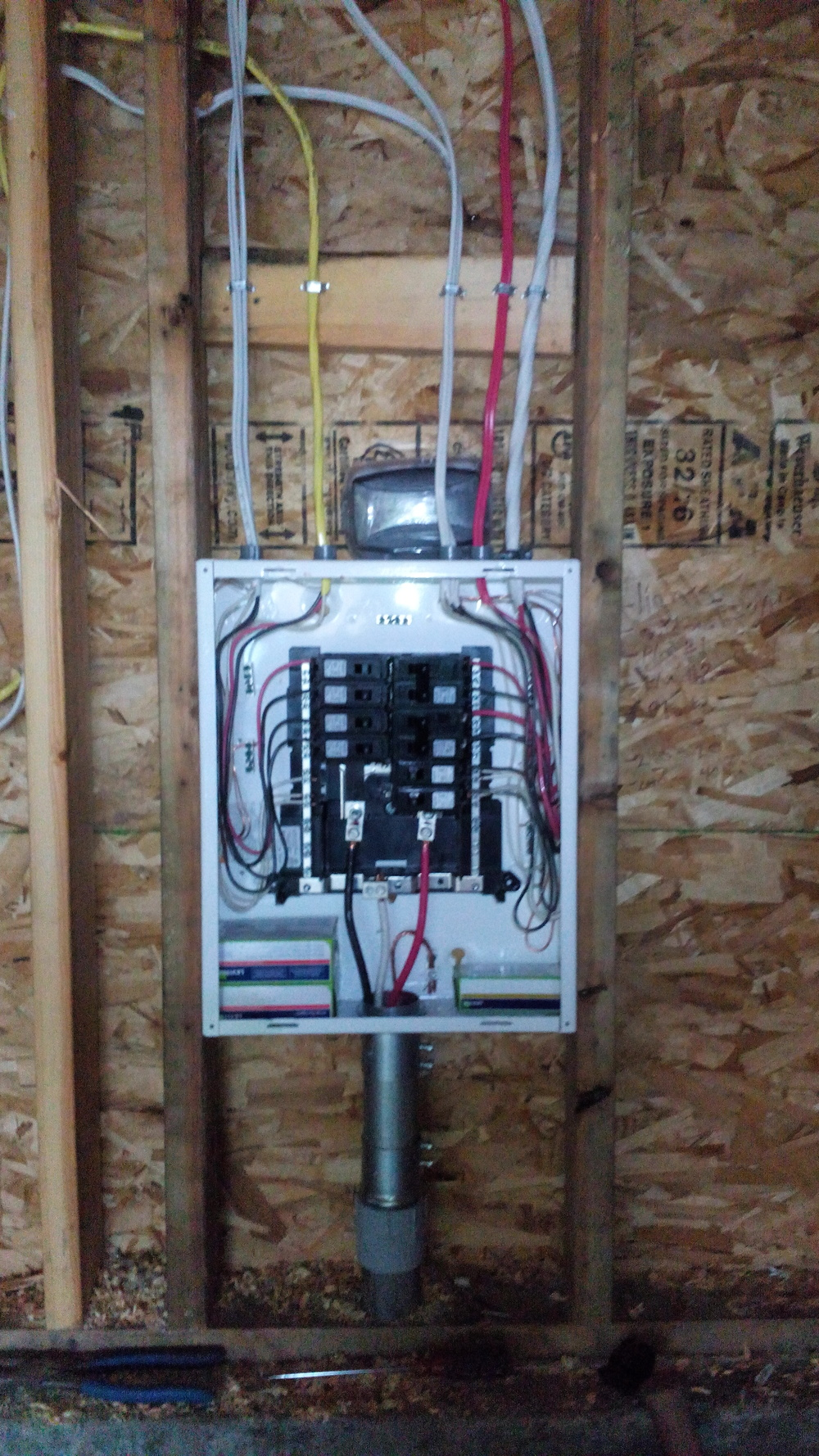 Electrical Panel in Garage
