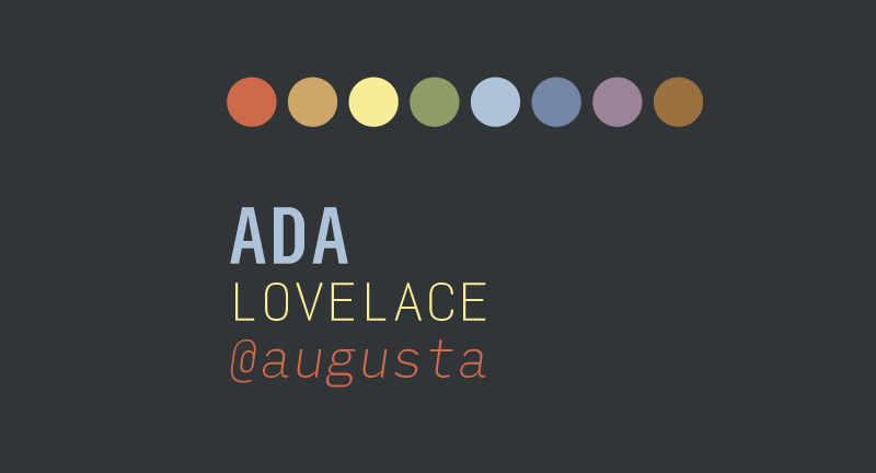 Base 16 colors and Input Sans