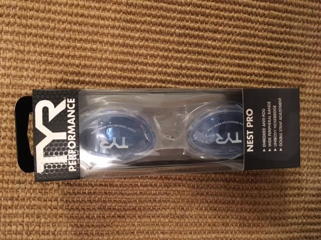 Back up to my backups of Nest Pro goggles thanks to my team at TYR!