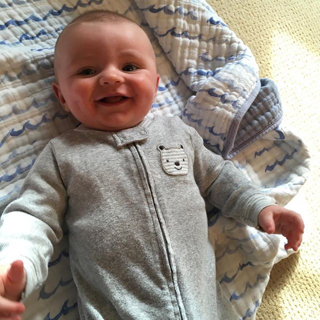 My tommy! . . #tommy #babyboy #almost6months #playtime #laughs #smile