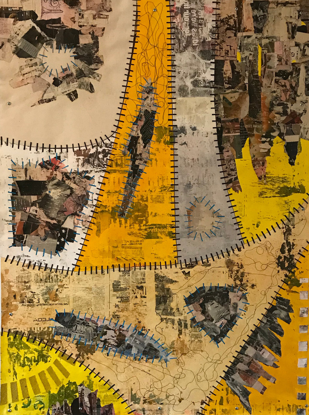 Sutured Yellow Composition