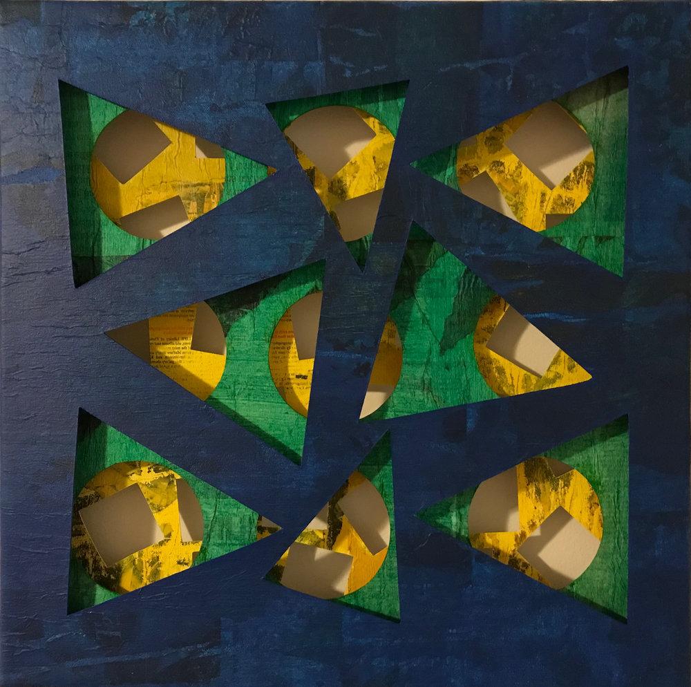 Three Layer Composition 103