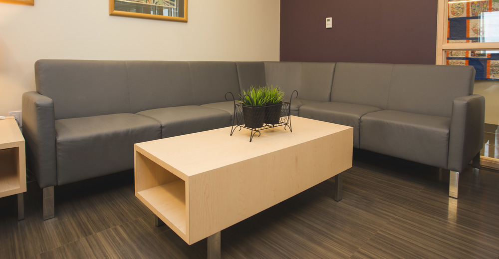 Modus Sectional with Custom Table