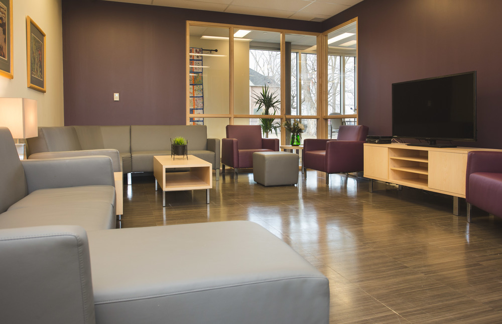 Modus with custom table and TV cabinet