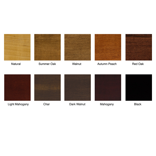 Wood finishes - Various possibilitites to complete your seating