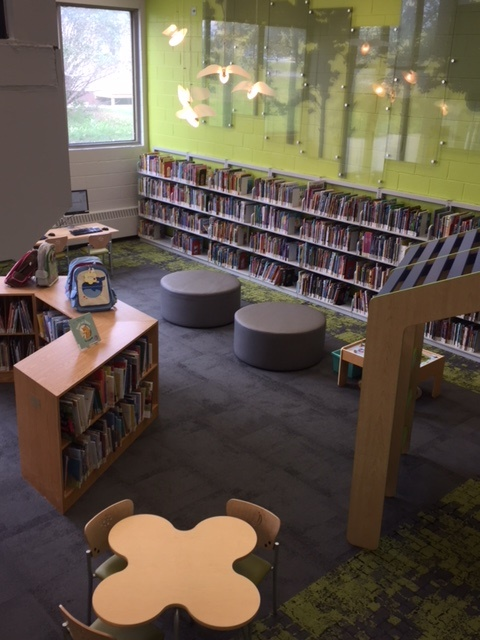 White Oaks Library - Kid's section