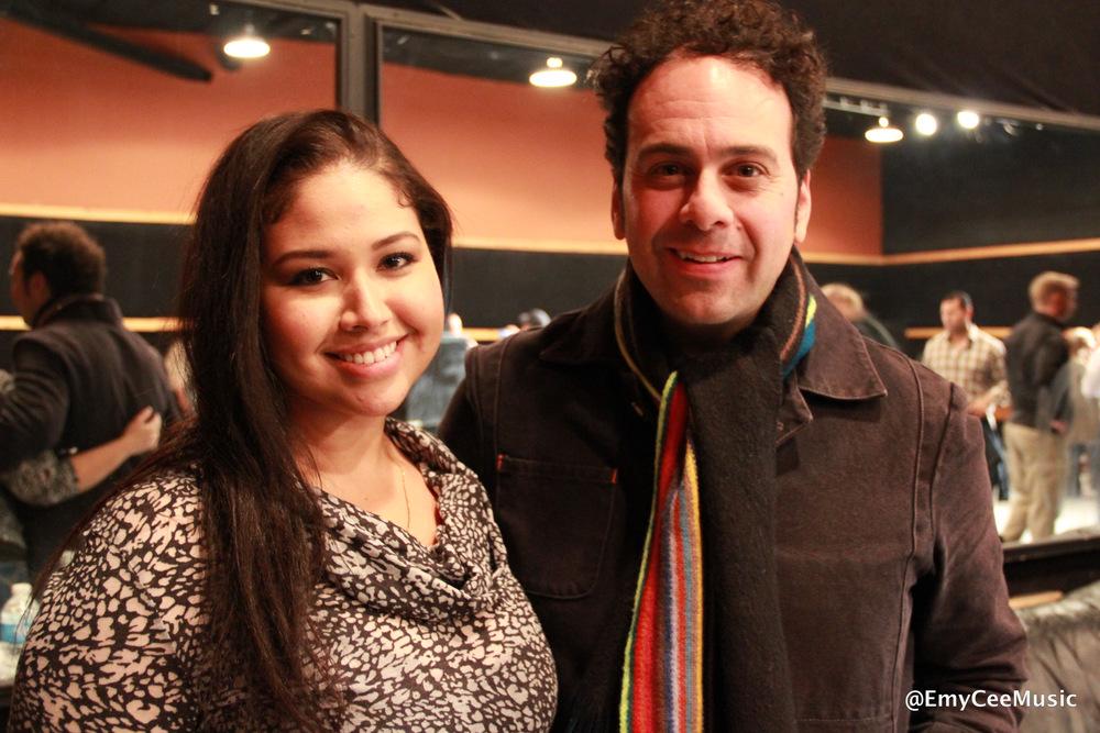 Emy Cee with Jon Carin