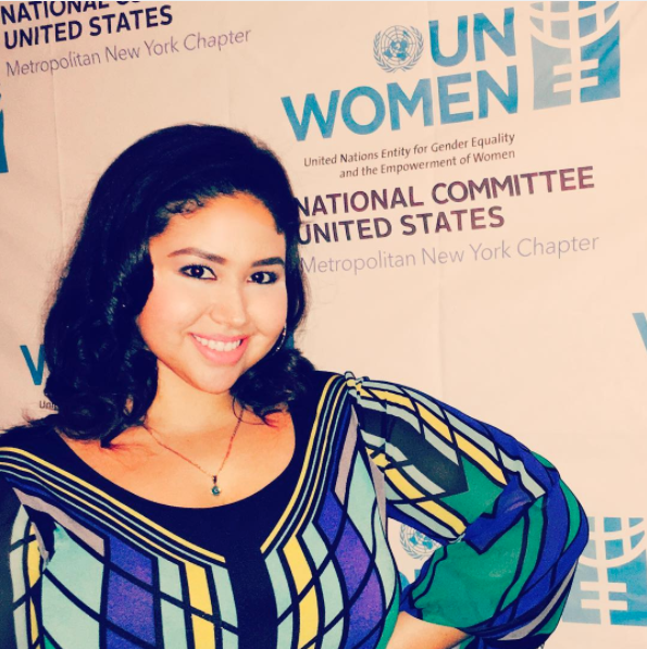 Emy Cee performs for UN Woman in NYC