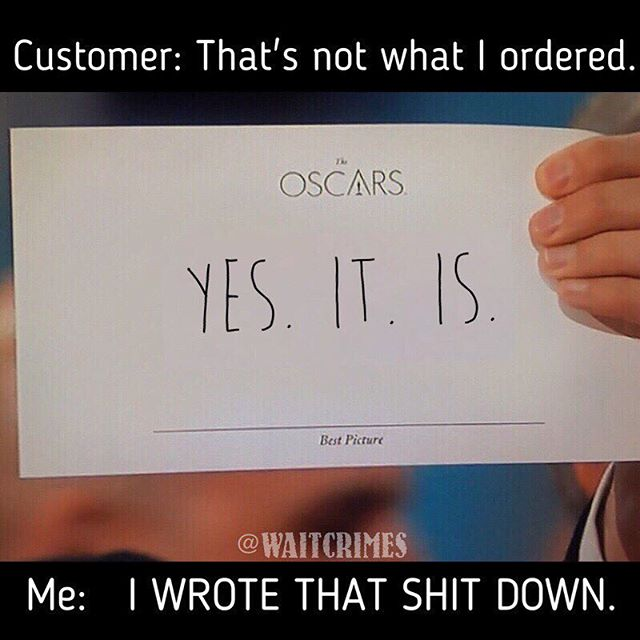 They tried it. 😂 #waitcrimes #serverlife #serverprobs #serversbelike #serverlifeproblems #server #servers #serverproblems #justiceserved #yourserverhatesyou #boh #foh #restaurantlife #t #workflow #lmfao #lmao #hostess #waitress #restauranthumor #lifeasaserver #lineup #runner #preshift