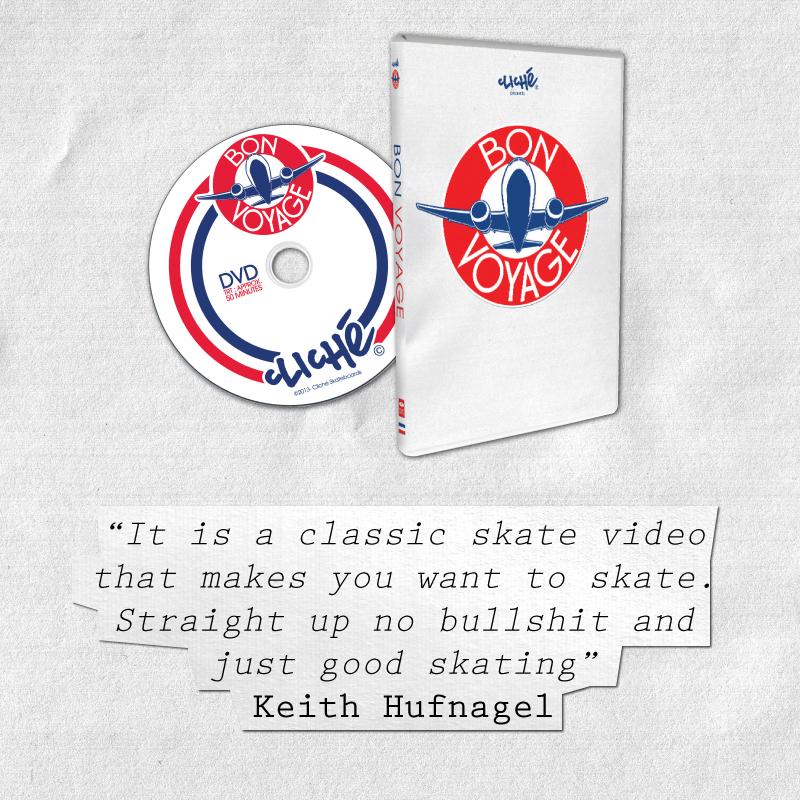 Keith Hufnagel Cliche bon voyage quote
