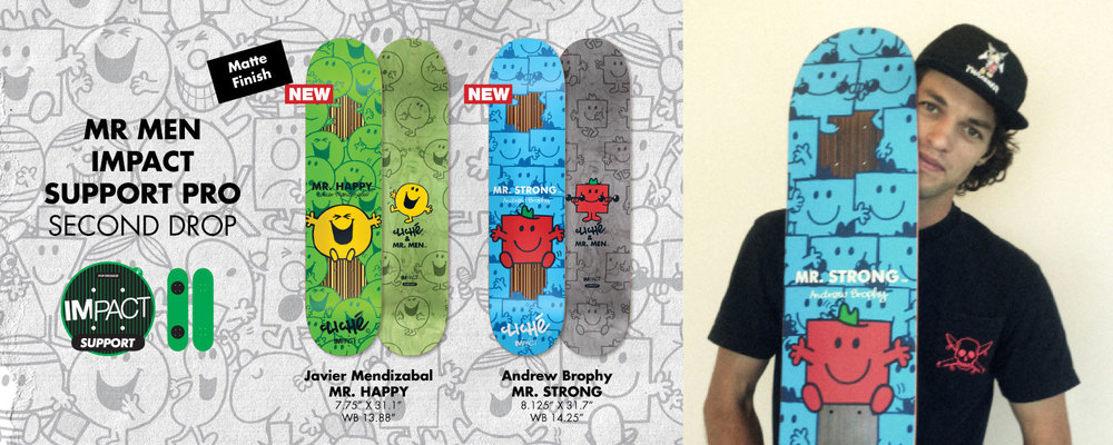 Cliche_Skateboards_Mr.Men_Impact