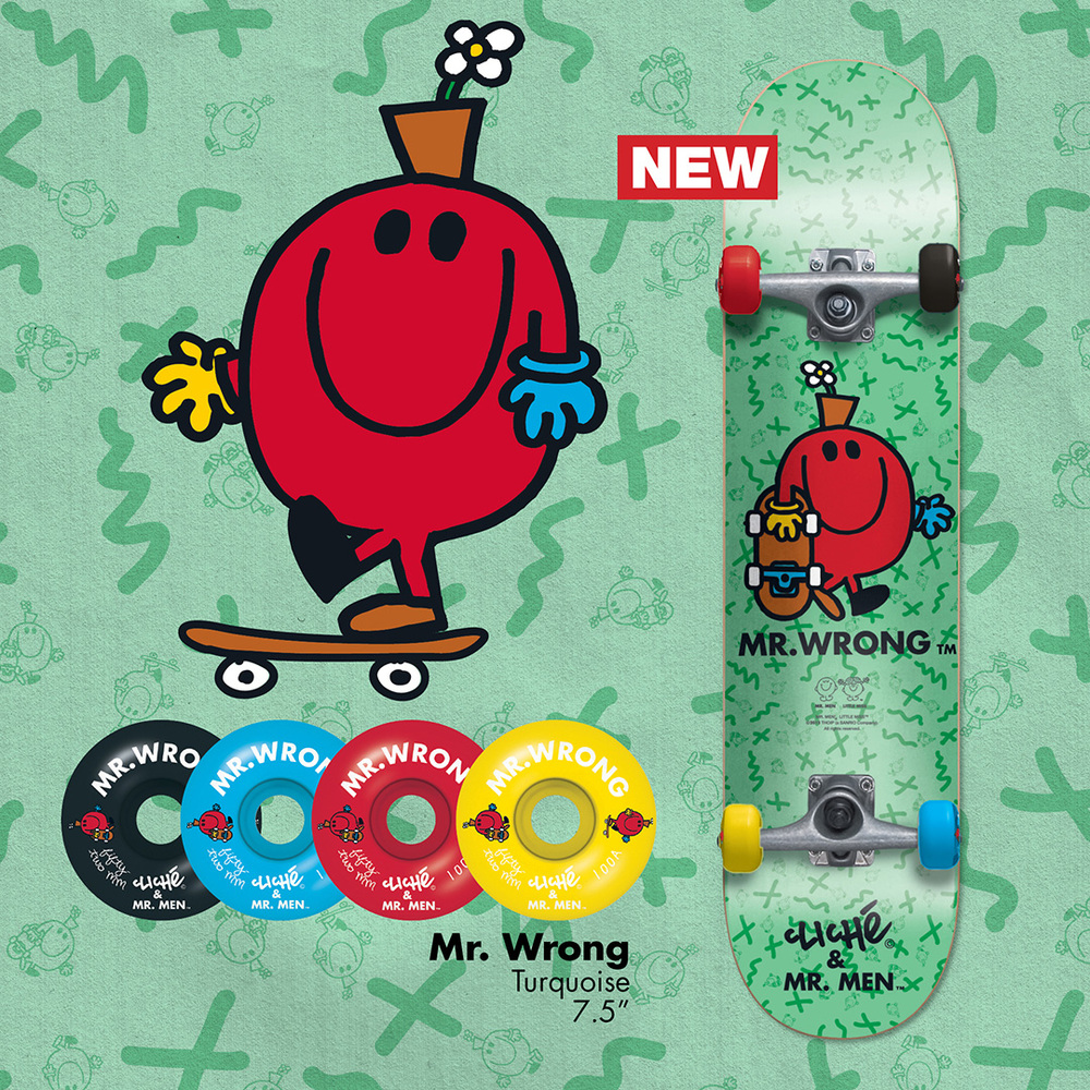 Cliche_Skateboards_Mr.Wrong_Complete