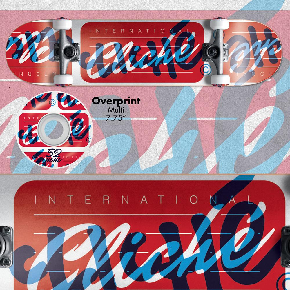 Cliche_Skateboards_Overprint_Complete