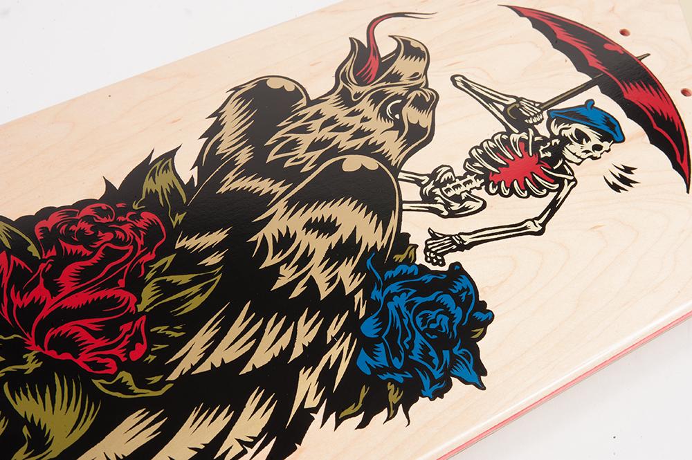 Cliche Skateboards x Swanski - Greedy Reaper Series Lucas Puig