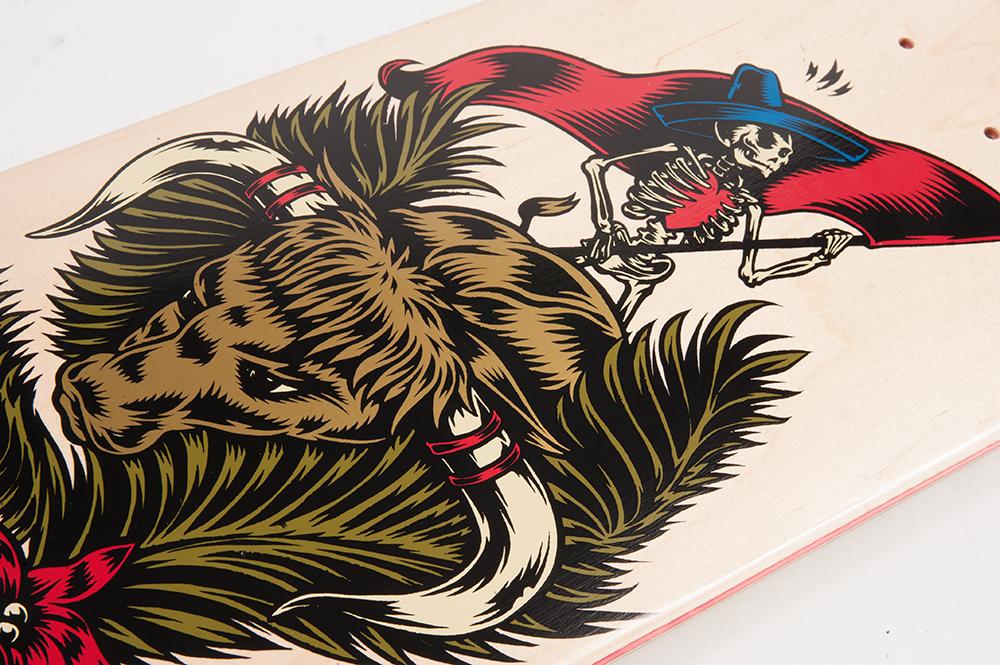 Cliche Skateboards x Swanski - Greedy Reaper Series Daniel Espinoza