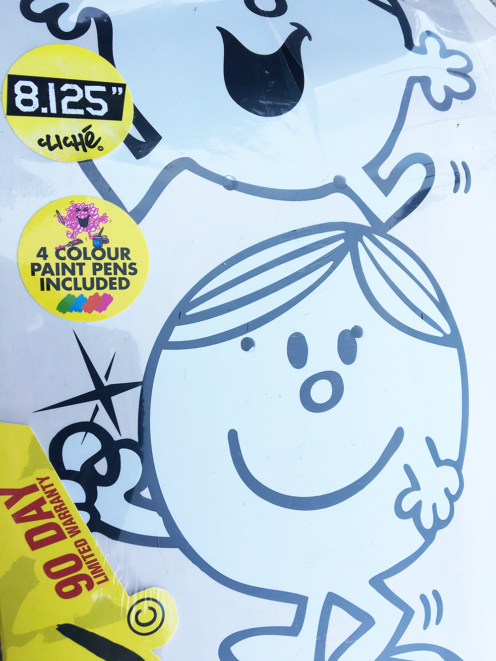 Cliché Skateboards x Mr. Men Paint Pen Seires Detail8