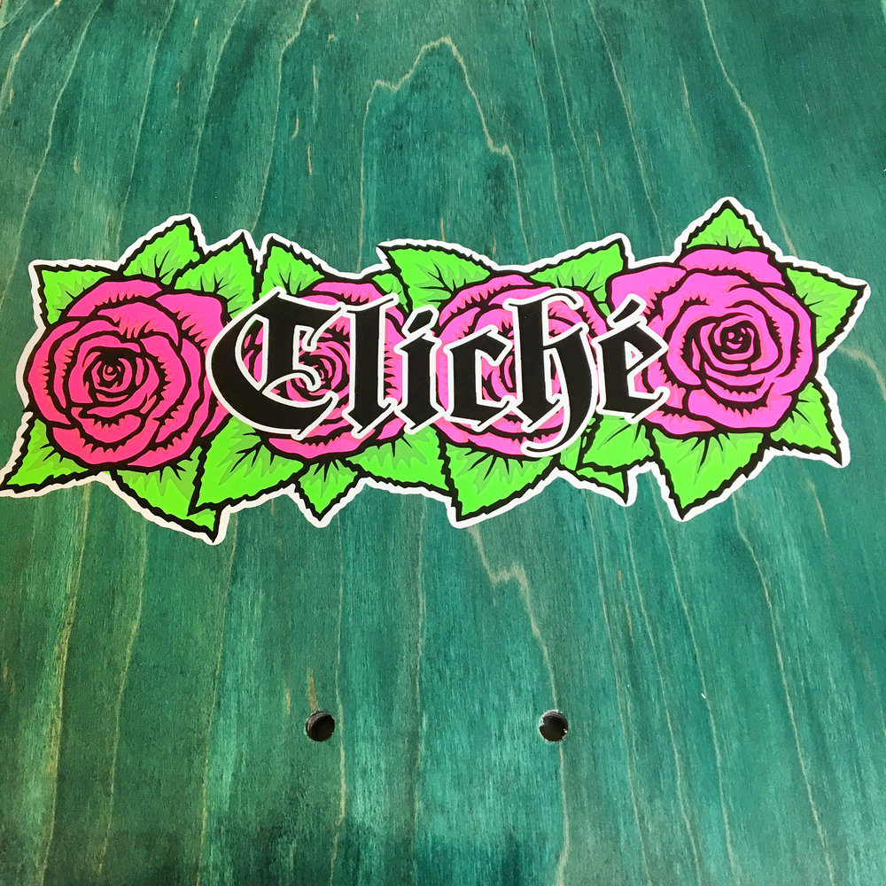 lucas puig virgin mary 101 tribute detail 3 cliche skateboards