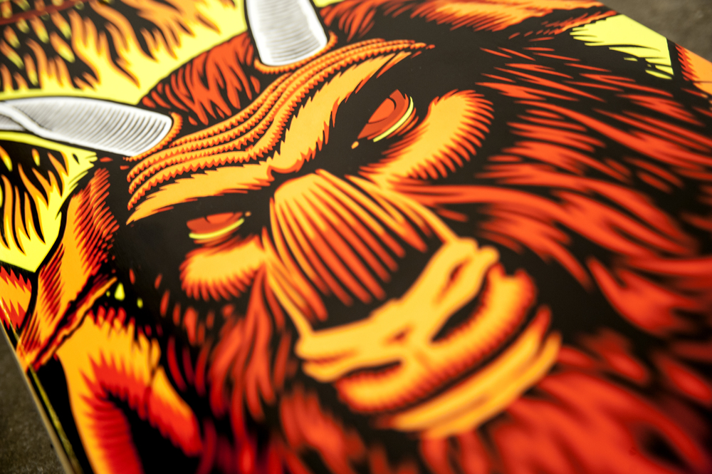 Sammy Winter Satan 101 tribute detail 2 cliche skateboards