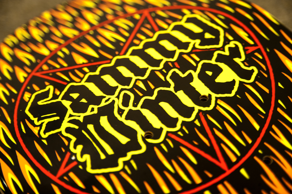 Sammy Winter Satan 101 tribute detail 1 cliche skateboards