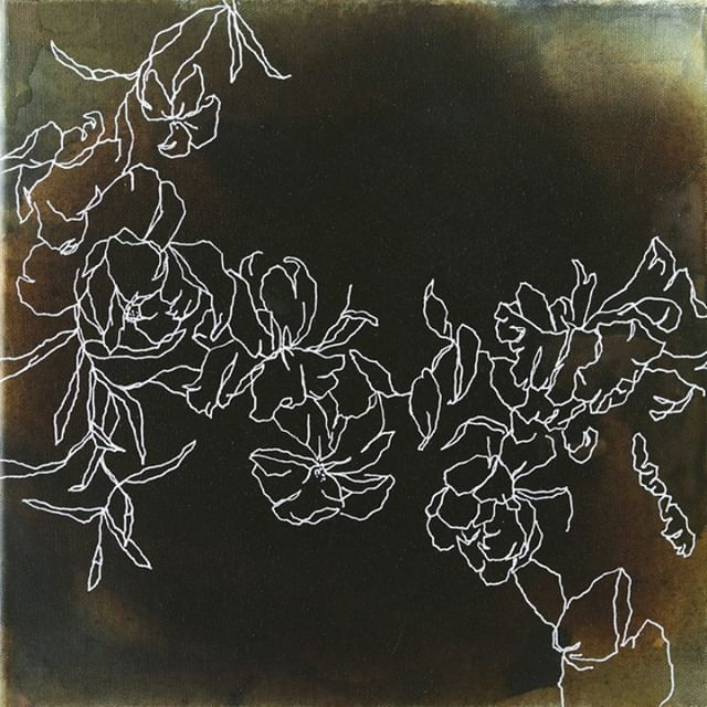 @meredithmejerle has always been drawn to florals. She uses their organic lines and shapes to create quietly impactful viewing experiences, an inadvertently dramatic way to pull us out of our overstimulated lives and into a calmer state of being.  See it and feel it at the #ATLArtParty2019 on Saturday, 03/02 at 595 North. All proceeds benefit @unicefnextgen work focused on ending violence against children in Madagascar. You can get your tickets or make a donation with link in bio. See you there!  #atlartparty #unicefnextgen #atlantaart #childrenfirst
