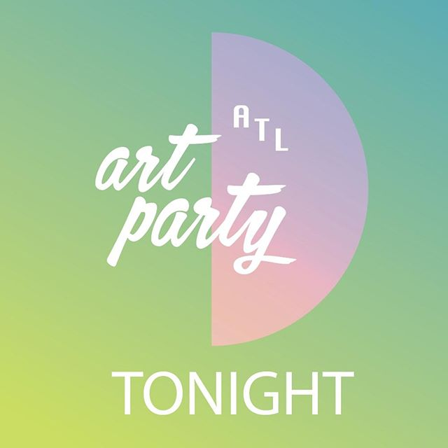 Tonight won't just be any night. @unicefnextgen ATL ART PARTY is happening and there's still a few more tickets left. COOL PEOPLE. GREAT ART. OPEN BAR. GOOD KARMA.  All ticket and art sales will go towards ending violence against children in Madagascar. See you at 595 North Event Center. Get your tickets or make a donation at the link in bio.  #atlartparty #unicefnextgen #atlantaart #childrenfirst