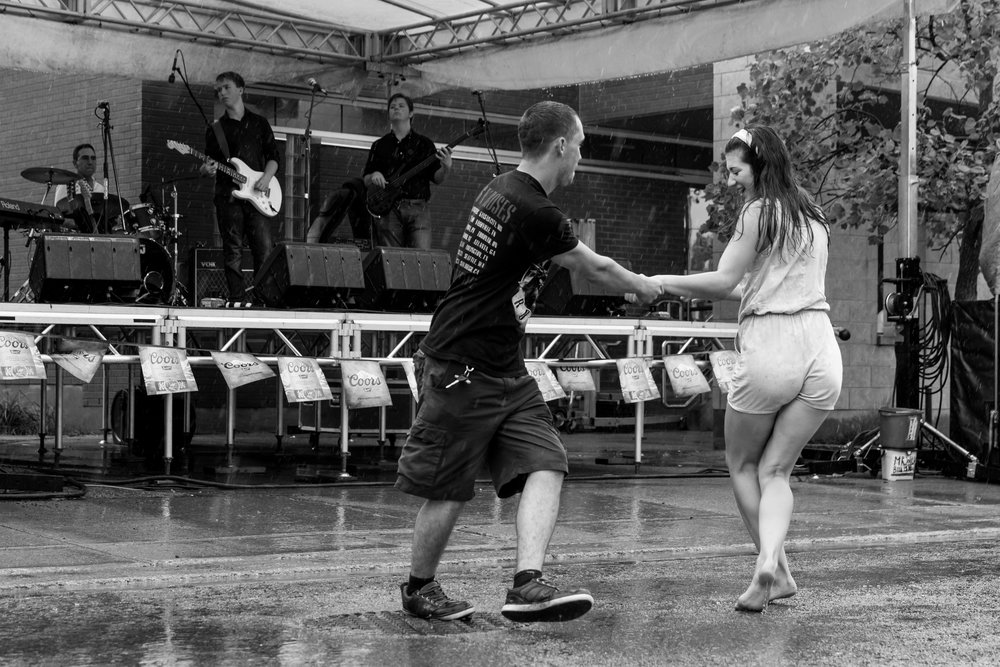 Dance like nobody's watching! (Photo from last year's  Taste of Fort Erie )