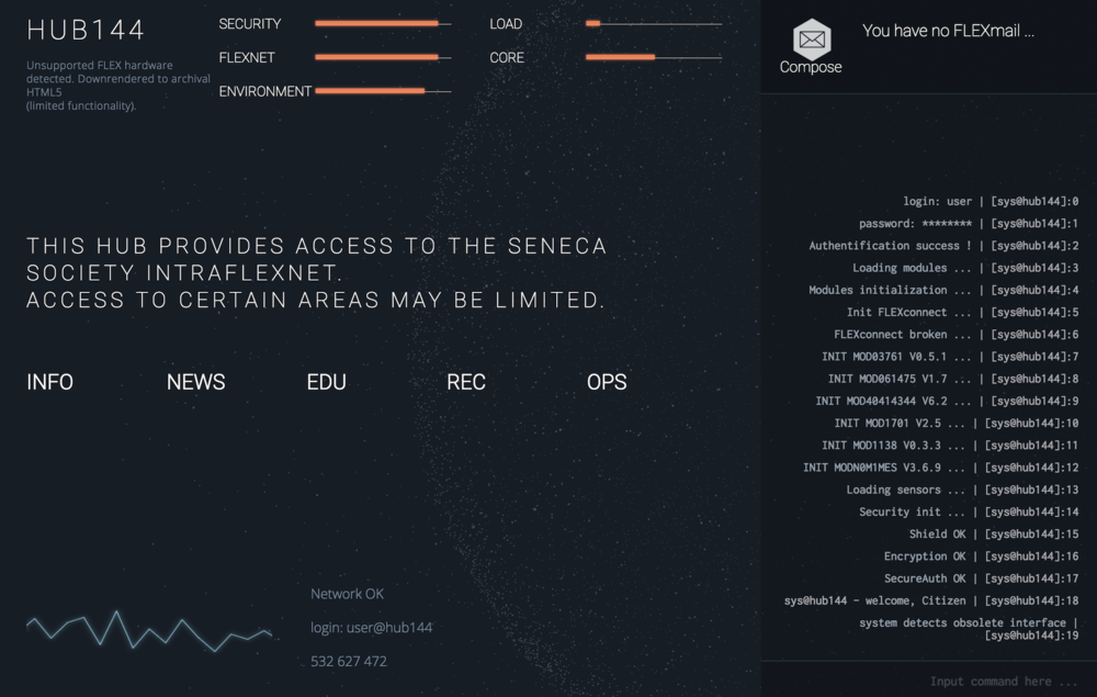 The Seneca Society Storyworld Expansion