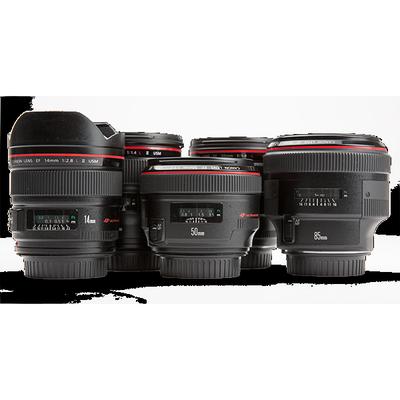 Canon L-Series Prime Lenses  14mm L  24mm L  35mm L  50mm L  85mm L  135mm L