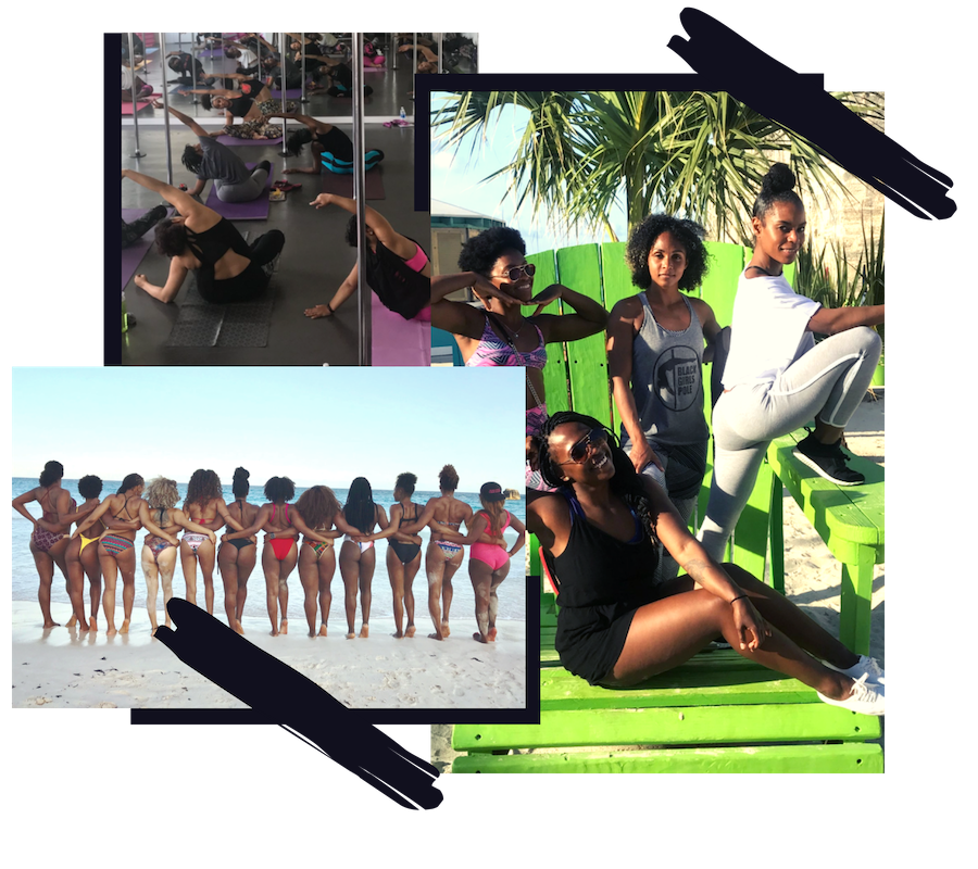 About Black Girls Pole - Black Girls Pole is an organization striving to diversify the pole community by inspiring, empowering, and educating women of color about pole dancing. BGP is a movement to both celebrate and introduce new faces to the transformative power of pole. BGP aims to provide a platform for women of color to embrace their bodies, challenge their body, mind and spirit and express their own unique individuality.
