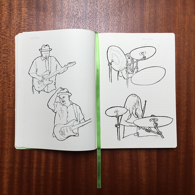 Fulton & the 44th album  sketches
