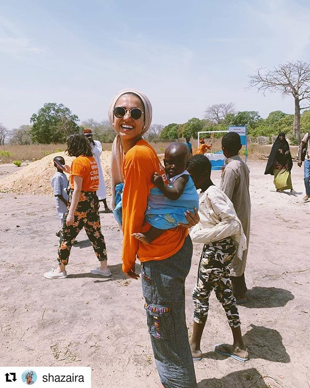 #Repost @shazaira #volunteerspotlight #civicmuslims #dogood #volunteerism #civicengagement ・・・ 'safe drinking water and adequate sanitation are crucial for poverty reduction, crucial for sustainable development, and crucial for achieving any and every one of the Millennium Development Goals'. • beyond blessed to be in The Gambia with @pennyappealusa 🇬🇲🙏🏼 [more on stories] #smallchangebigdifference