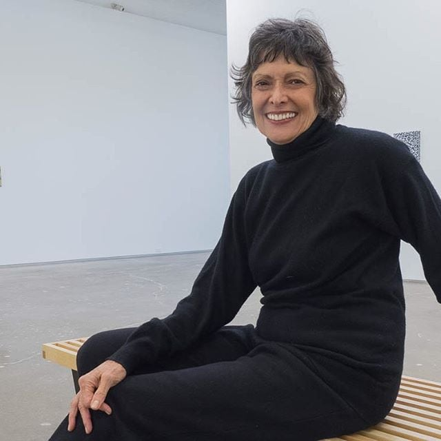 Joan Davidow of #site131 in the Dallas Design District.