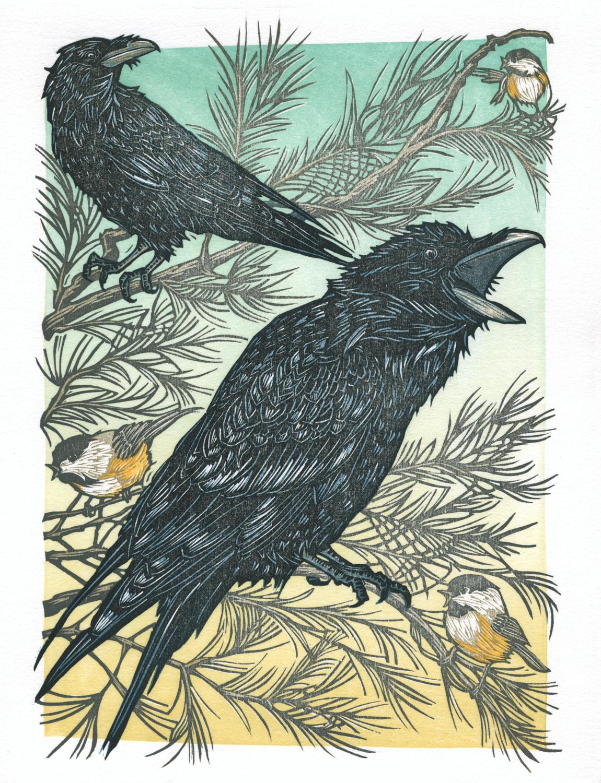 Ravens Perch, Chickadees Call