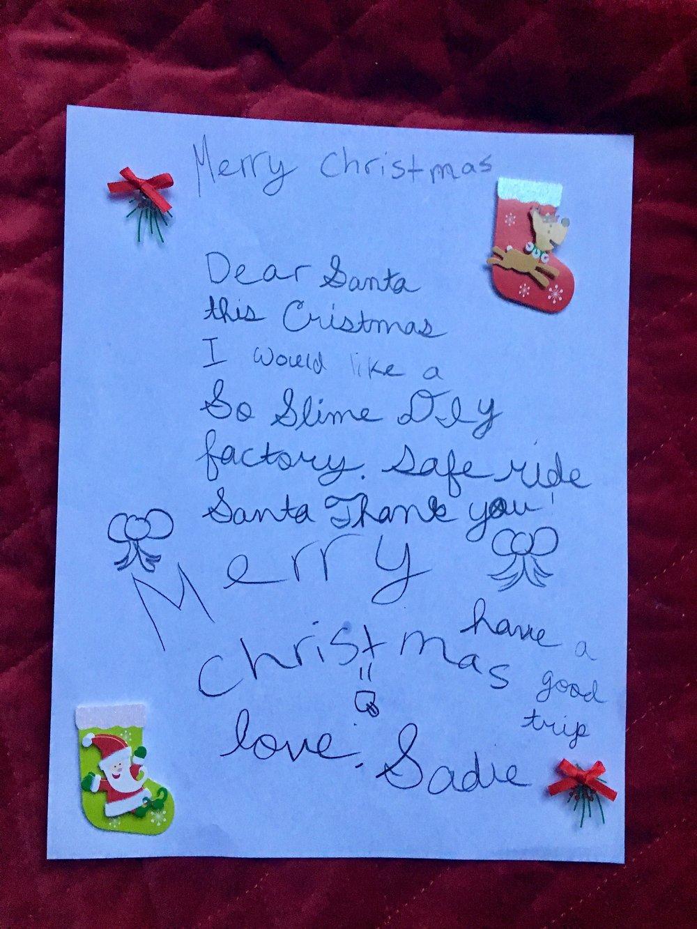 to Santa From Sadie.jpg