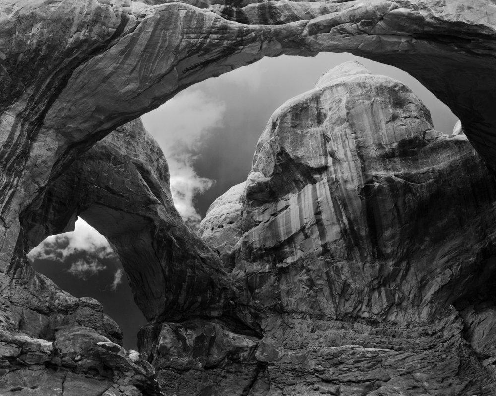 Gerald Pisarzowski, Double Arches, Arches NP, Utah, 2013