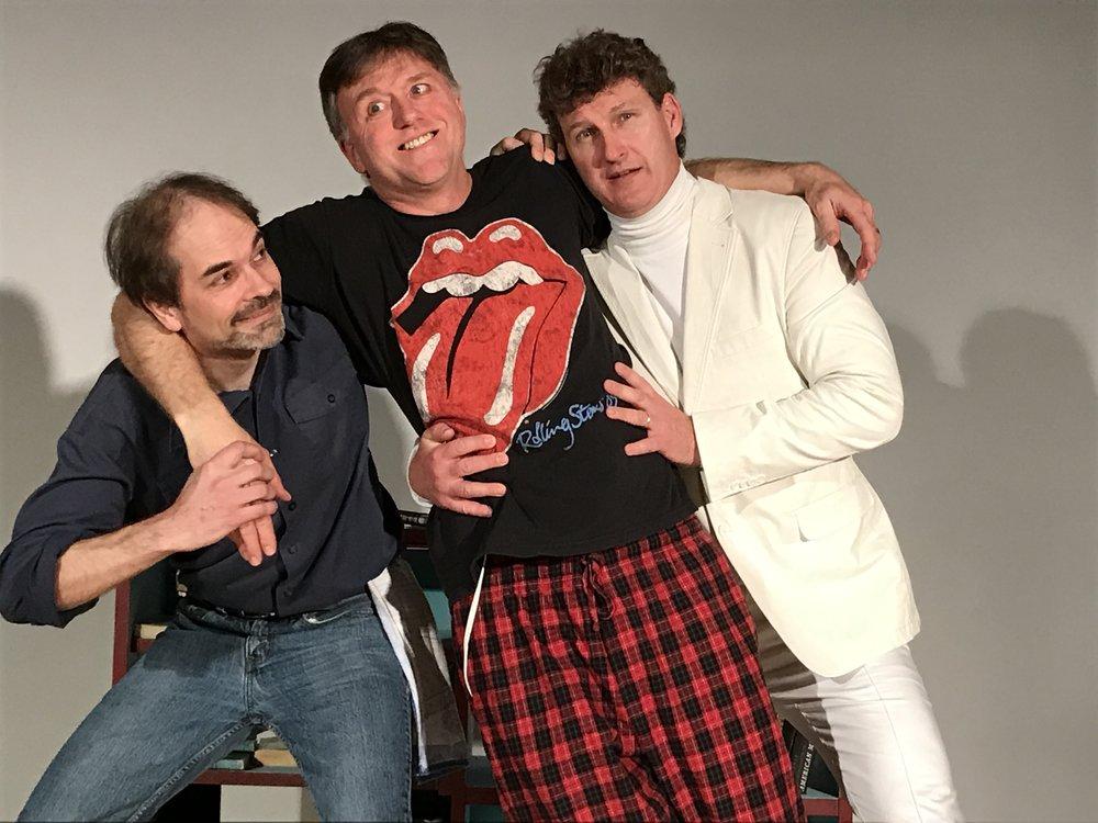 L-R: Paul Dobbs, Kit Greaves, Derek Barber