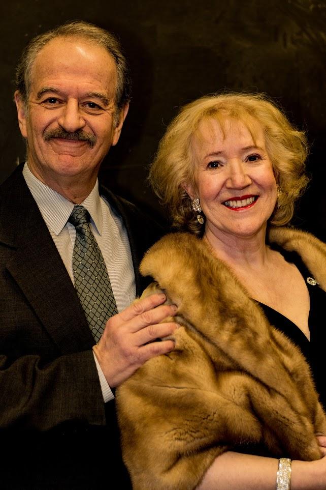 L - R: Harry Hochman, Susan Sanders Photo by Julie P. Adams