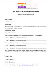 School Nomination Form