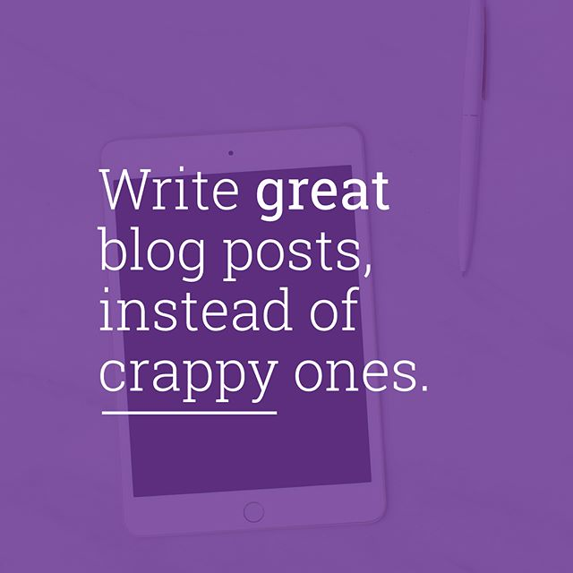 Writing blog posts is not about having perfect English.  The MOST ☝🏻important thing is caring about the people you're writing to: your readers. It all boils down to how much they enjoy & value your blog posts.  In the ⌨️ Un-Crapify Your Blog Posts mini bootcamp, I'll break down 5 easy lessons that'll help you write confidently, write more interestingly and make RM1,000,000 along the way. (OK no, just kidding.) But if you're wondering how (famous) bloggers get to start businesses from their blogs, writing great blog posts is STEP ONE.  Join the mini bootcamp on my blog for FREE. Click the link in my bio to get started!