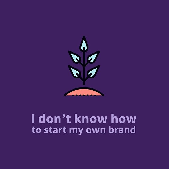 "I'm going to try to say this in the least 🌽-y way possible: Be yourself. It's the easiest — and most effective way — to start a brand that LASTS.  We're always stuck on what we think our brand is *supposed* to be, rather than focus on what it already is. Like, if you're a girly girl, and you're passionate about auto care — does that mean your brand CAN'T be girly (because it's about cars)? When I first started this blog/business thing, I thought I had to be 'professional' and serious. Like, ""This is BUSINESS, man."" But it felt so forced! And the funny thing is, I was the one forcing myself to be serious! Now, if I want to talk about un-serious stuff like the way I snore or The Sims or whatever — I will. Cuz that's how I see the world, yaknow?  So yeah. Look at yourself and say, ""This is me."" (🌽) ""The brand starts here."""
