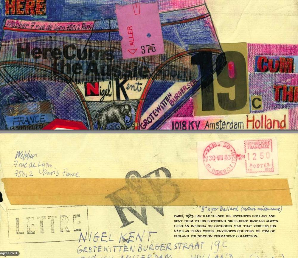 Bastille envelope