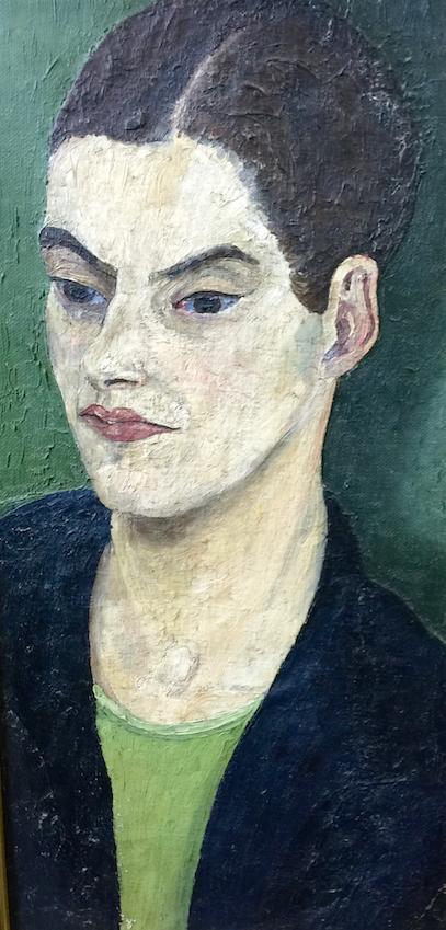 Nancy Morris  by Cedric Morris, 1929 - Norwich Castle and Art Gallery