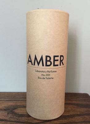 Laboratory Perfume, Amber No.001