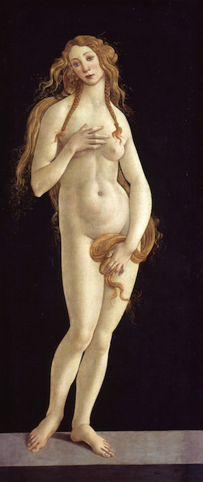 Sandro Botticelli:  Venus , 1490