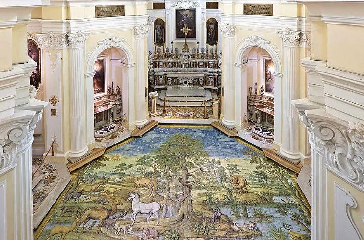 La chiesa di San Michele Arcangelo, CAPRI, ITALY