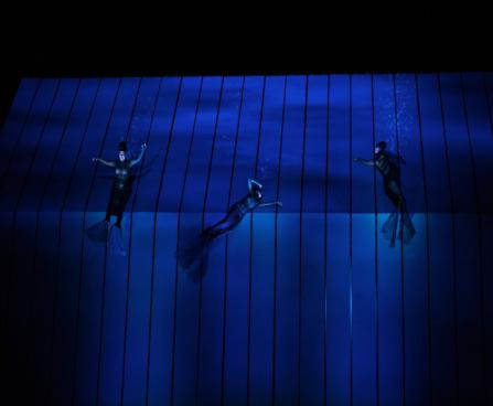 The Rheinmaidens    Photo: Marty Sohl/Metropolitan Opera