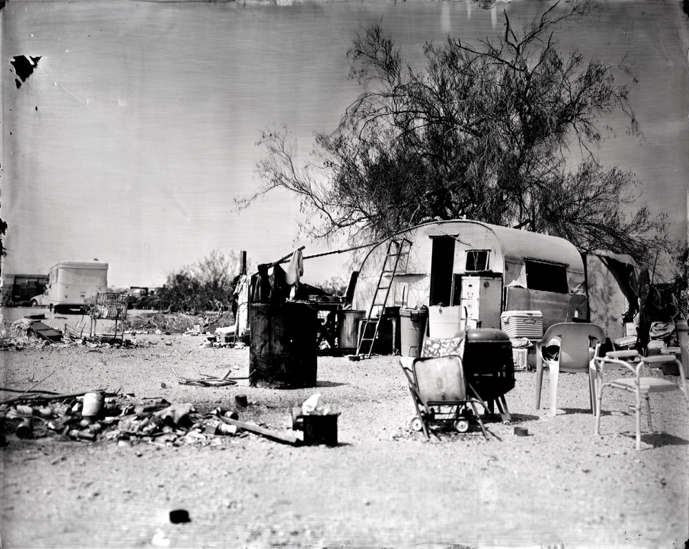 Slab City, Photograph by Ian Ruhter
