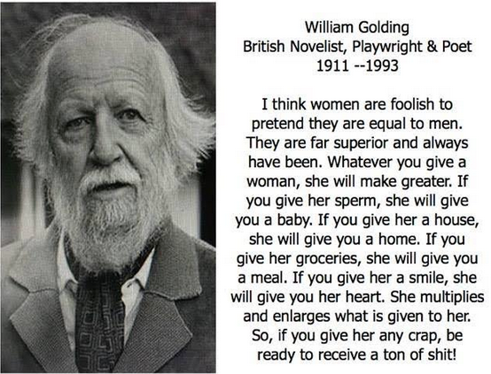 William Golding quote