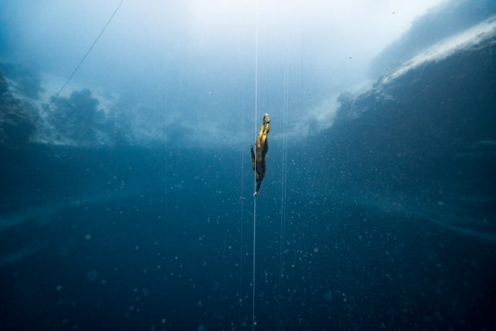Natalia Molchanova - Russian free diving legend